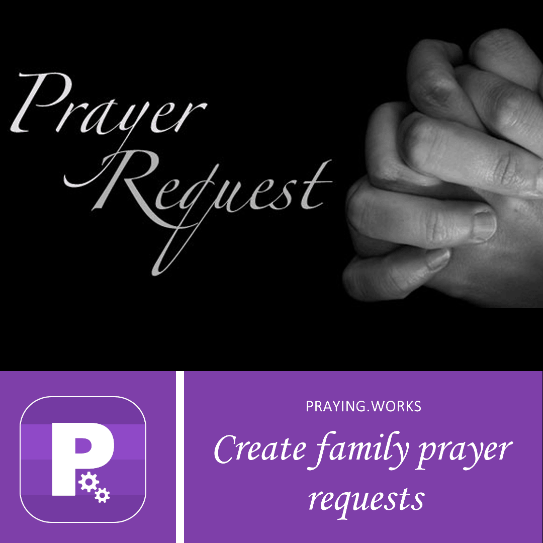 Is your family looking up to God to grant a prayer request