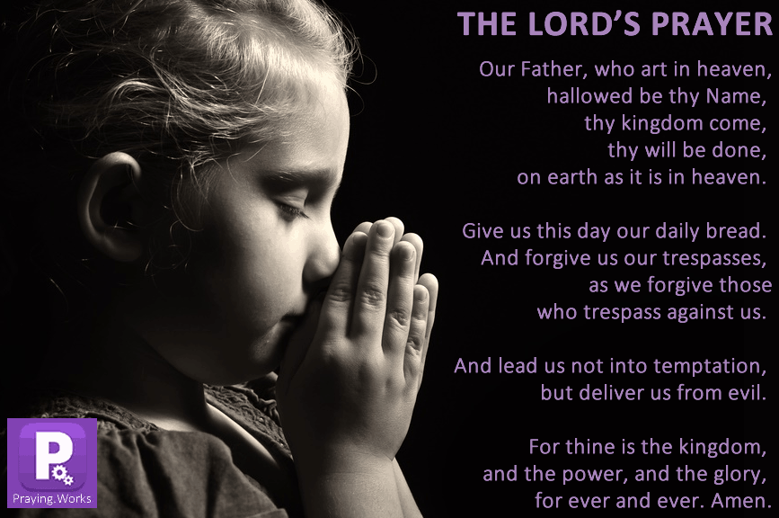 When the disciples asked Jesus to teach them topray, he taught them The Lord's Prayer. Make this prayer a part of your daily life