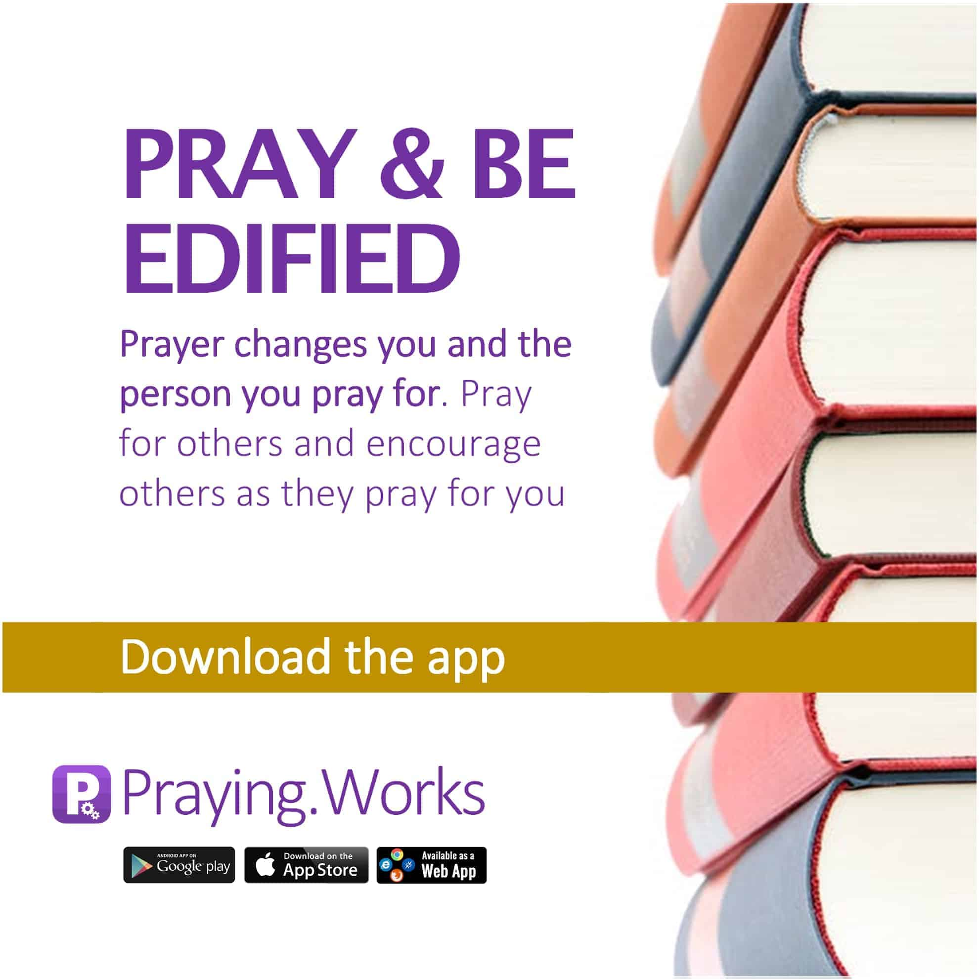 Pray and Be Edified