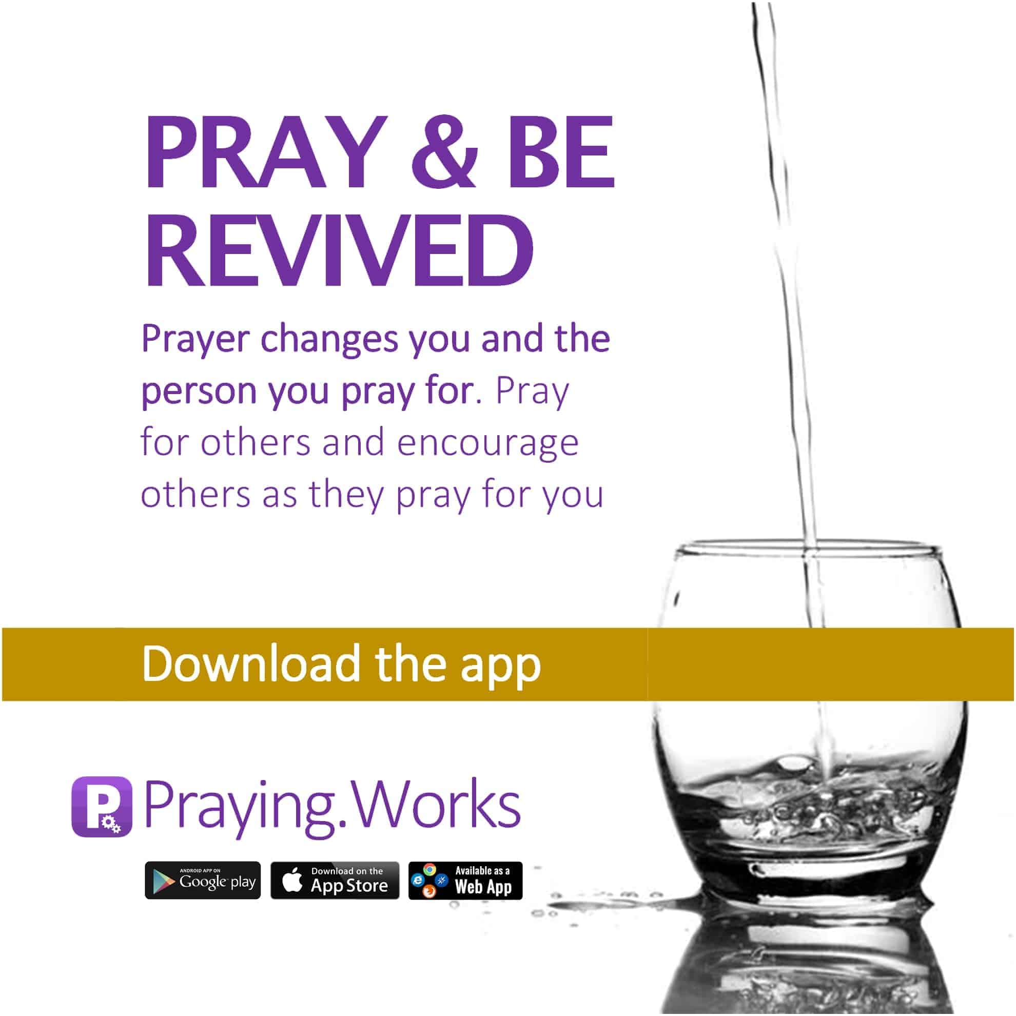 Pray and Be Revived