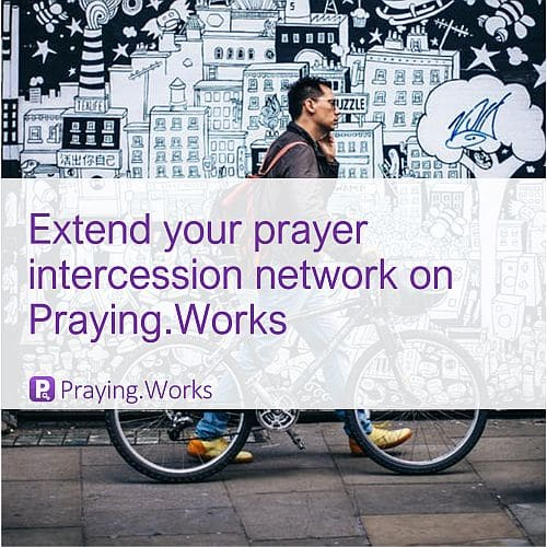 Extend your Prayer Engagement Network