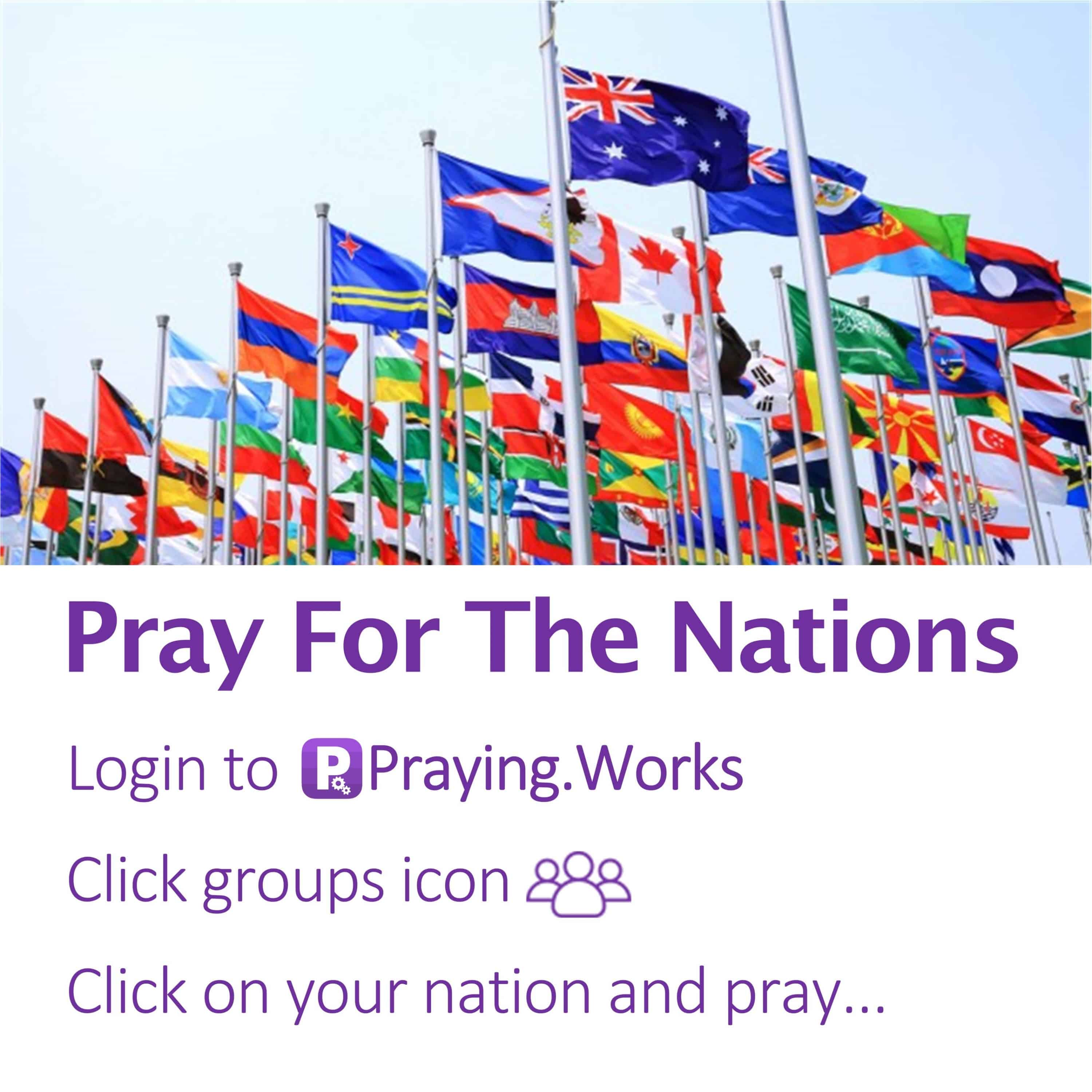 Pray for the Nations 1/7