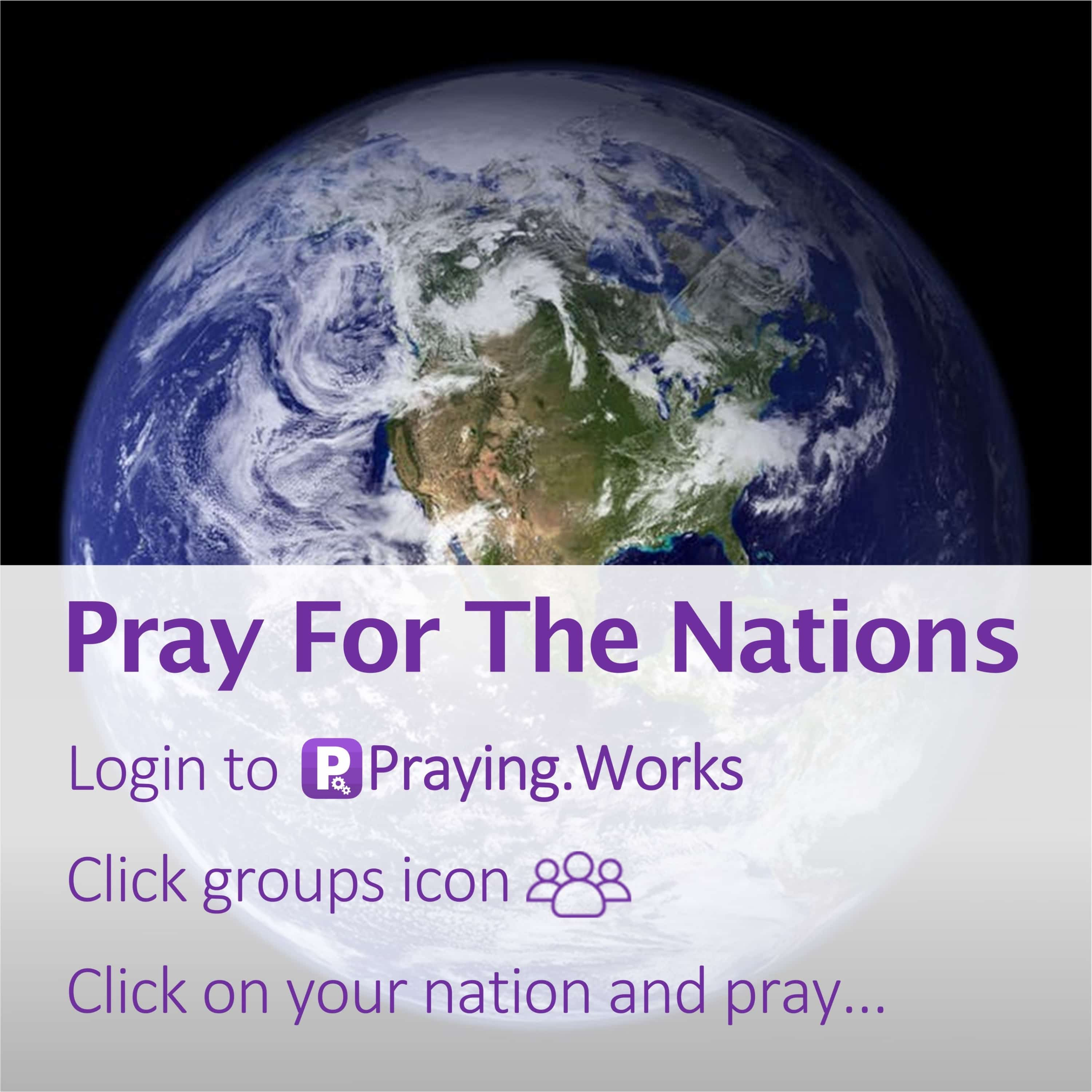 Pray for the Nations 2/7