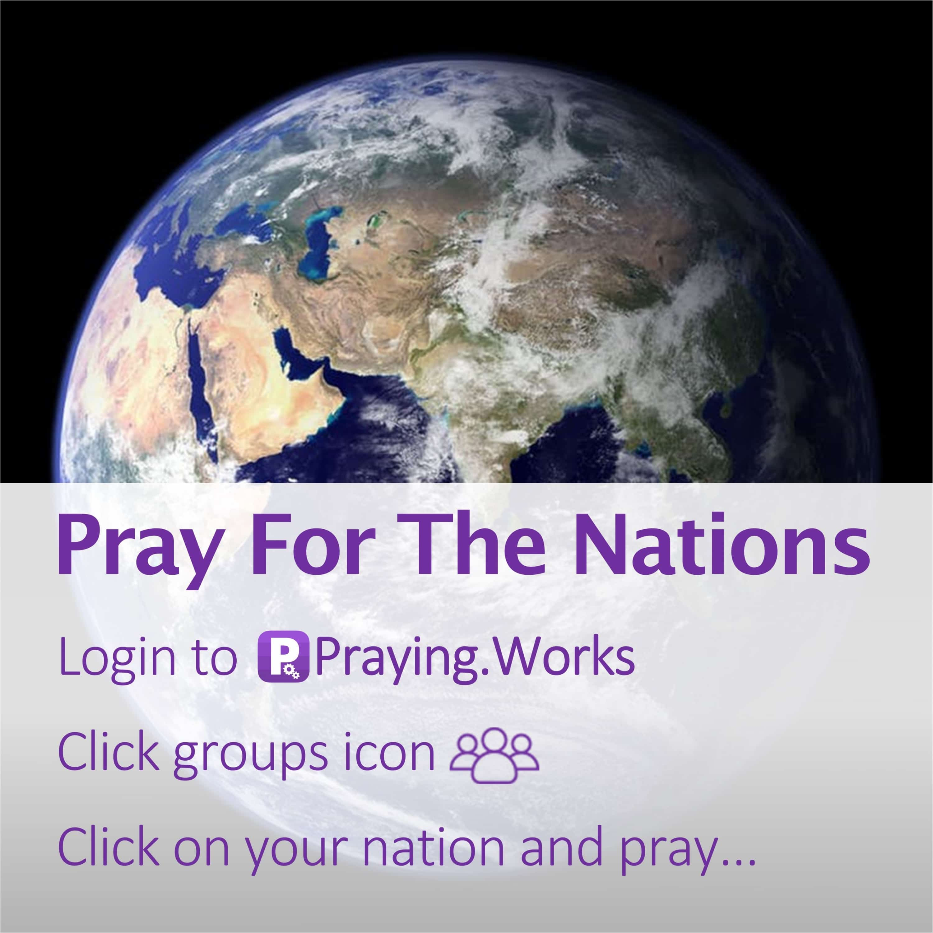 Pray for the Nations 3/7