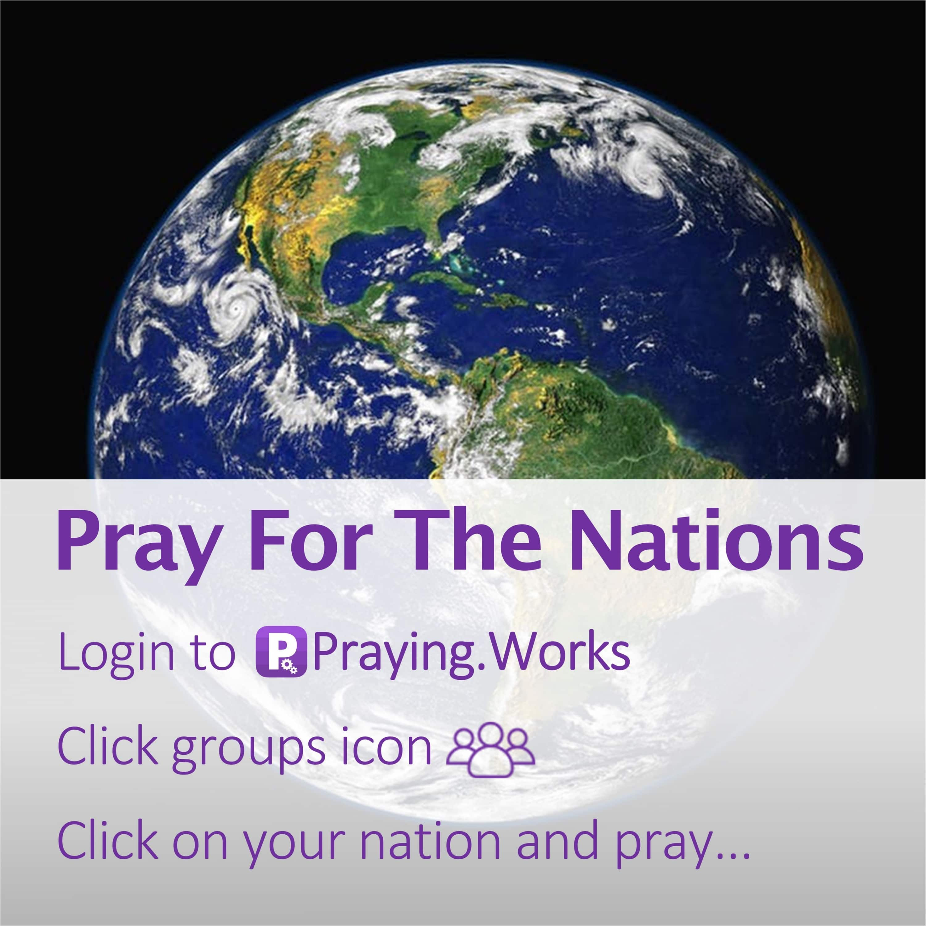 Pray for the Nations 4/7