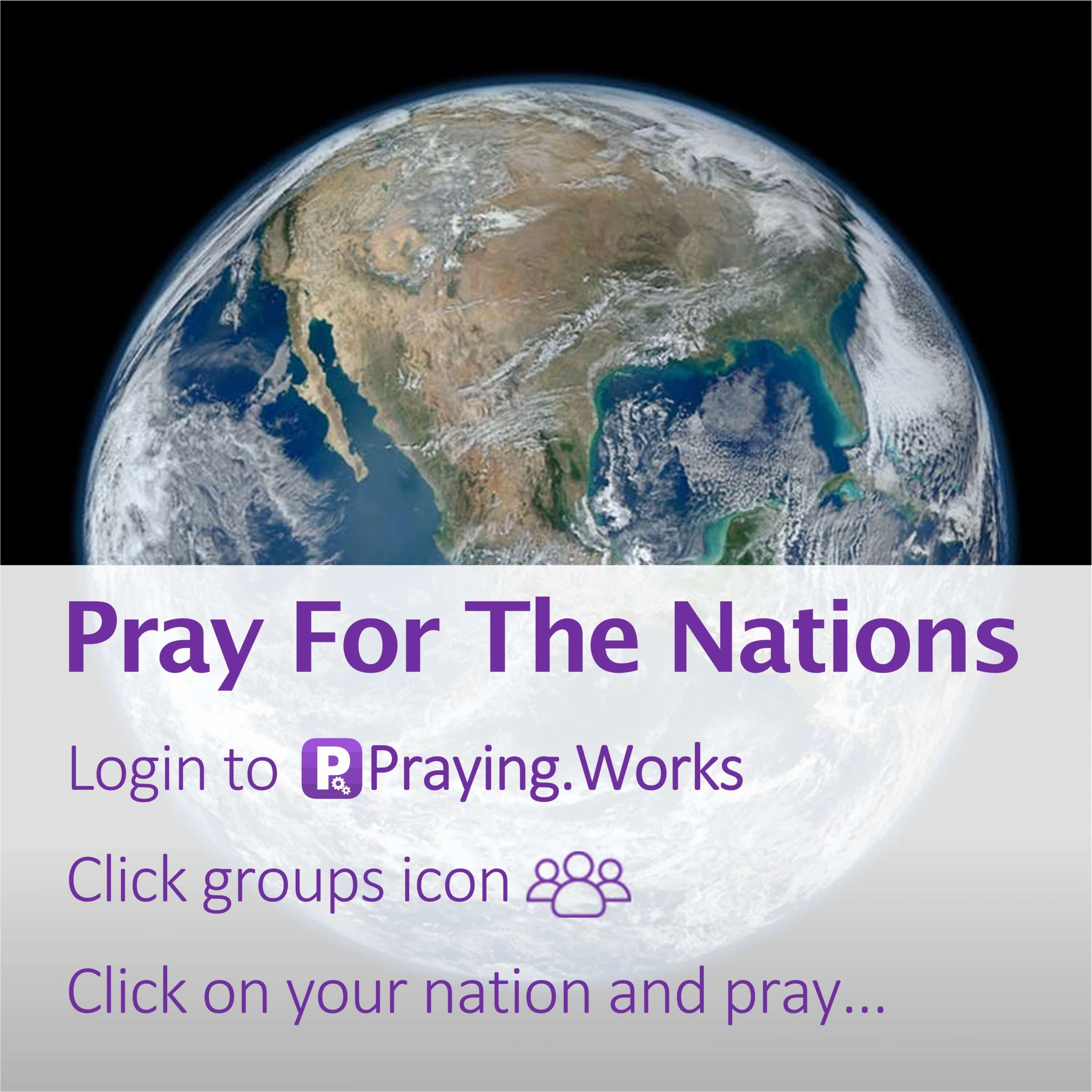 Pray for the Nations 5/7