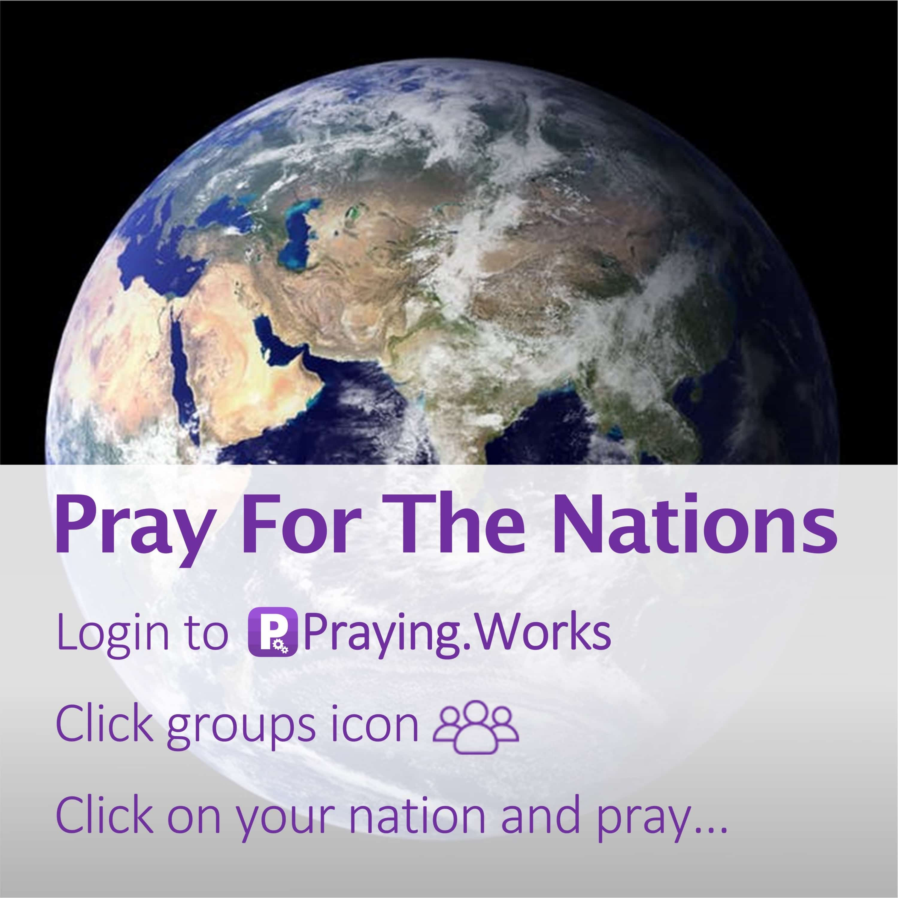 Pray for the Nations 7/7